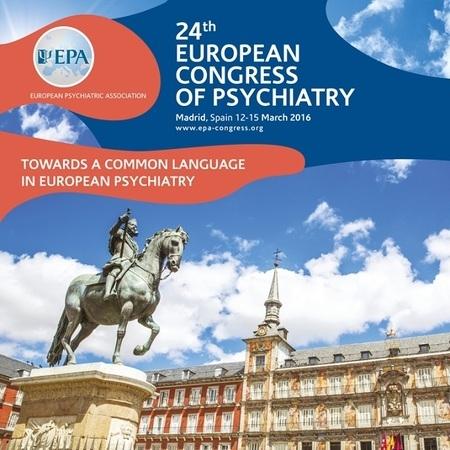 Evropski kongres psihijatrije 2016 Madrid