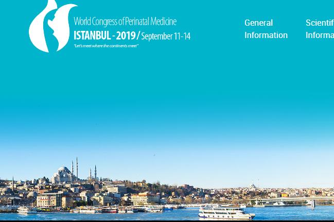 KONGRES PERINATALNE MEDICINE ISTANBUL 2019