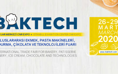 SAJAM PEKARSTVA IBAKTECH 2020 ISTANBUL