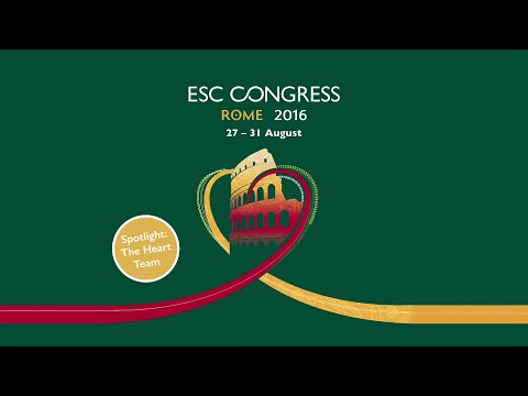Kardiološki kongres ESC 2016 Rim
