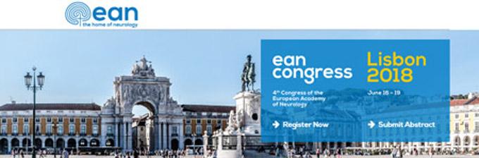 4th Congress of the European  Academy of Neurology LISABON 2018